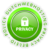 Dutchwebhosting Privacy beleid