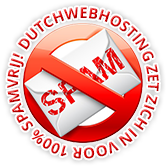 Dutchwebhosting Anti-Spam beleid